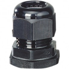 Kabelverschraubung Hensel IP66/IP67/IP69 M20 schwarz GDP IEC 60695-2: 960°C