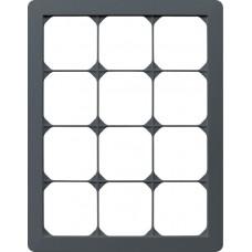 Abdeckrahmen 4x3/3x4 anthrazit kallysto.trend 274x214mm