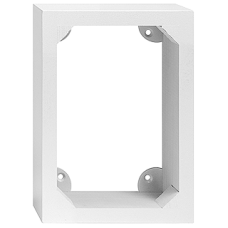 AP-Holzrahmen EDIZIOdue 3x2 weiss