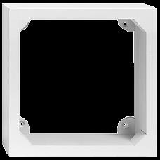 AP-Holzrahmen EDIZIOdue 3x3 weiss