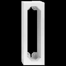 AP-Holzrahmen EDIZIOdue 4x1 weiss