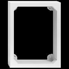 AP-Holzrahmen EDIZIOdue 4x3 weiss