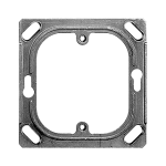 Befestigungsplatte 1-teilig 1 x 1 Feller Grösse I für X1185 70x70mm
