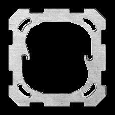Befestigungsplatte Gr.I 77x77 f.PMI,POMI,FMI,NAP/NUP,BSM Einheitsausschnitt