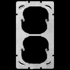 Befestigungsplatte,2x1,Feller 137x77mm