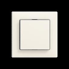Frontplatte EDIZIOdue colore 60x60mm für Druckschalter mit Seitenlinse