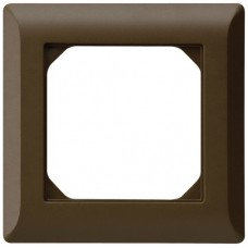 Abdeckrahmen,1x1,braun kallysto.line,92x92,vertikal
