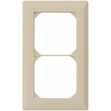 Abdeckrahmen,2x1,beige kallysto.line,152x92,vertikal
