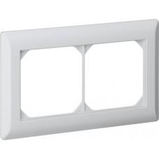 Abdeckrahmen 1x2 hellgrau kallysto.line 92x152mm horizontal