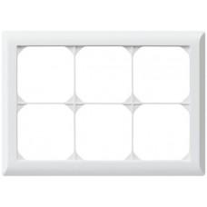 Abdeckrahmen,2x3,weiss kallysto.line,152x212,horizontal
