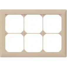 Abdeckrahmen,2x3,beige kallysto.line,152x212,horizontal