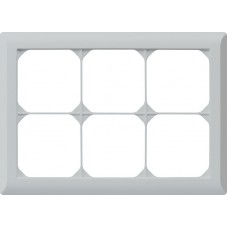 Abdeckrahmen,2x3,hellgrau kallysto.line,152x212,horizontal