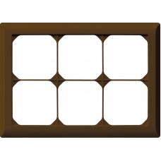 Abdeckrahmen,2x3,braun kallysto.line,152x212,horizontal