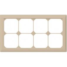 Abdeckrahmen,2x4,beige kallysto.line,152x272,horizontal
