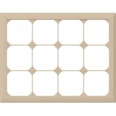 Abdeckrahmen,3x4,beige kallysto.line,212x272,horizontal