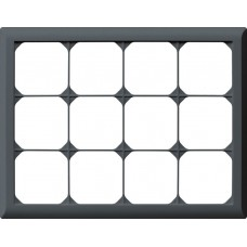 Abdeckrahmen,3x4,anthrazit kallysto.line,212x272,horizontal