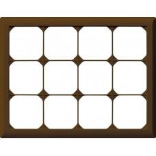 Abdeckrahmen,3x4,braun kallysto.line,212x272,horizontal