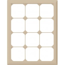 Abdeckrahmen,4x3,beige kallysto.line,272x212mm,vertikal
