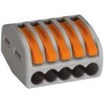 Leuchtensteckklemme Wago 5P 0,08-4mm² - 40stk