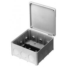 AP Abzweigdose Agro 135x135mm leer hellgrau IP54 500 V Einführung 2xM16/20, 10xM25 mit Profilschiene EN 50022-35, Länge 110 mm