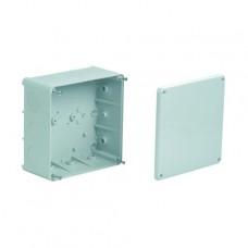 AP Abzweigdose Agro 137x137mm leer grau IP54 500 V Einführung 2xM16/20, 10xM25