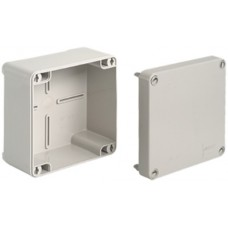 AP Abzweigdose Agro 105x105x65mm leer hellgrau IP65 500 V