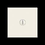 Frontplatte,EDIZIOdue,weiss 60x60mm,für Blindabdeckung,ohne Traverse