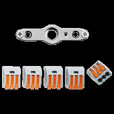 Abzweigdose,Feller,5P,16A Einsatz,400V,2.5mm²,3L+N+PE, BSE