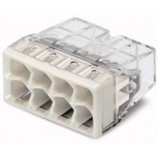 Steckklemme Wago 8L 0,5-2,5mm² 24A Dosenklemme COMPACT 450V - 50 Stück