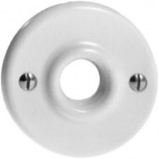 Frontscheibe,Standard,weiss Ø43mm,für Anschlussdose Ruflichtleuchte
