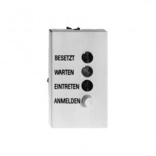 EB-Türstation,deutsch,weiss Feller,FLF 3/5,37.5x62.5mm