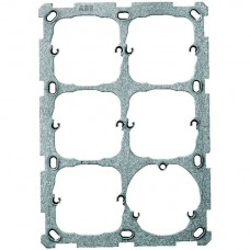 Befestigungsplatte 3x2 ABB 197x137mm für 5x52mm/3xT13