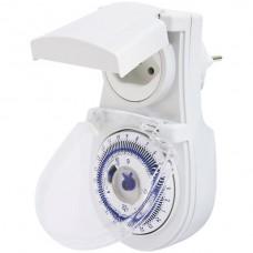 Zeitschaltuhr STAU analog IP44 T12/T13 KS 24h mit 15 minuten Intervall