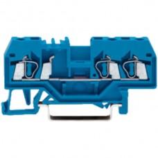 3-Leiter-Klemme-Wago 2,5 blau