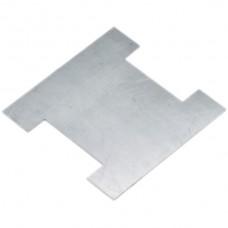Stahleinlage Hager home für Bodendosen Gr.4 mit Bürsten