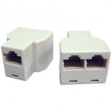 Adapter Buchsen 3xRJ45u parallel 8P8C ungeschirmt