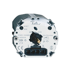 Drehdimmer LED-Universal Einsatz Feller 4-200W/VA ohne Frontset BSE