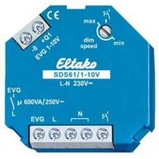 EB-Ferndimmer Eltako 600VA 1S f.EVG, SDS12/1-10V