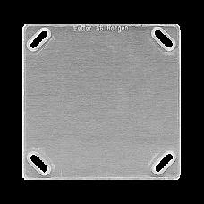 Befestigungsplatte 1-teilig 1 x 1 Feller ohne Ausschnitt 70x70mm
