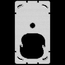 Befestigungsplatte 2-teilig 2 x 1 Feller Sonnerie + Drucktaster 1262 •  137 x 77 mm zu 38242800