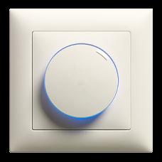 UP-Drehdimmer EDIZIOdue 20-600W Universal VRLC beleuchtet LED Blau/Grün/Rot/Gelb/Weiss