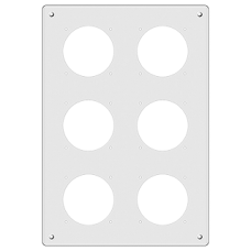 EB-Nass-Kombi,3x2,Feller,GV Alu,kugelpoliert,vertikal