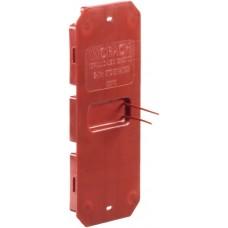 Schutzdeckel,MT,Gr.I-I/60,rot Crallo-Leu,130x70x10mm,650° - 10stk