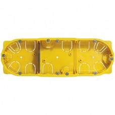 Hohlwand-Dose Batibox 6/8/3x2M 213x73/40mm 850°C gelb für Mosaic