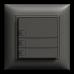 UP-Universaltaster 3x1 für Schraubklemmen EDIZIOdue ohne LED,FMI