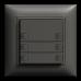 UP-Universaltaster 3x2 für Schraubklemmen EDIZIOdue ohne LED,FMI