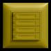 UP-Universaltaster 4x1 für Schraubklemmen EDIZIOdue mit Papiereinlage,FMI
