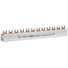 Gabel-Phasenschiene 4P 16mm2 Hager