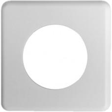 Abdeckplatte,1x1,86x86,weiss Ø45mm