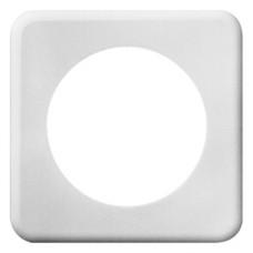 Abdeckplatte,1x1,86x86,weiss Ø58mm